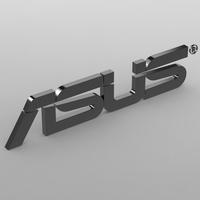 asus logo 3D Model
