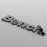 bench logo 3D Model
