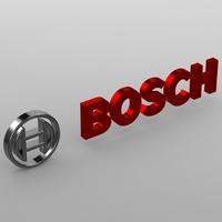bosch logo 3D Model