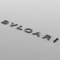 bulgari logo 3D Model