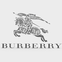 burberry logo 3D Model