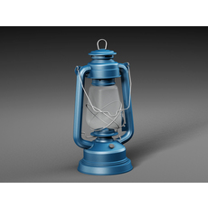 Kerosene lamp 3D Model