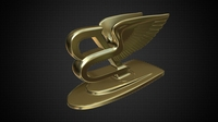 bentley hood ornament 3D Model