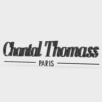 chantal thomass logo 3D Model