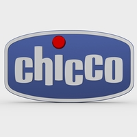 chicco logo 3D Model