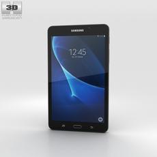 Samsung Galaxy Tab A 7.0 Metallic Black 3D Model