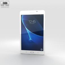 Samsung Galaxy Tab A 7.0 Pearl White 3D Model