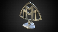 maybach hood ornament 3D Model