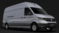 WV Crafter Van L3H3 2018 3D Model