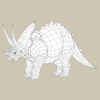 18 57 20 66 game ready dinosaur triceratops 07 4
