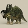 Game Ready Triceratops Dinosaur 3D Model