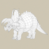 19 02 31 691 game ready triceratops dinosaur 07 4