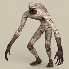 Game Ready Fantasy Mummy 3D Model