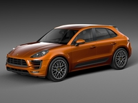 Porsche Macan GTS 3D Model
