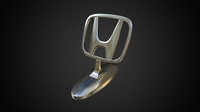 honda hood ornament 3D Model