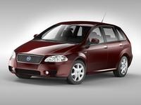 Fiat Croma (2005 - 2007) 3D Model