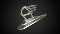 austin hood ornament 3D Model