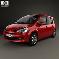 Renault Modus 2008 3D Model