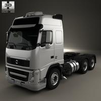 Volvo FH Tractor Truck 3-axle 2008 3D Model