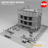 17 23 01 406 low poly motel building 03 4