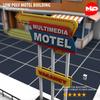 17 23 11 806 low poly motel building 06 4
