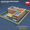 17 26 46 857 low poly high school building02 4