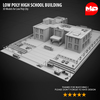 17 26 50 8 low poly high school building03 4