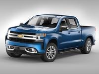 Chevrolet Silverado (2019) 3D Model