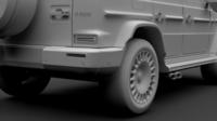 Mercedes Maybach G 600 W464 2019 3D Model