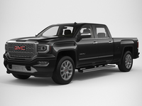2018 GMC Sierra 1500 Denali 3D Model