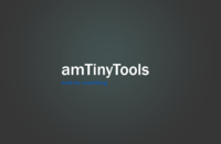 amTinyTools 1.1.0 for Maya (maya script)