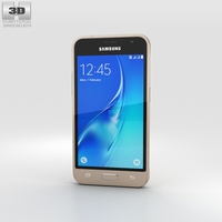 Samsung Galaxy J1 (2016) Gold 3D Model
