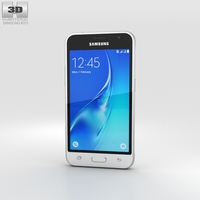 Samsung Galaxy J1 (2016) White 3D Model