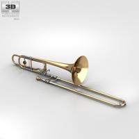 Trombone 3D Model