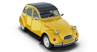 Citroën 2CV 3D Model