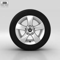 Hyundai Elantra Wheel 16 inch 001 3D Model