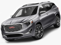 GMC Terrain Denali 2018 3D Model