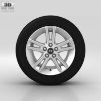 Hyundai i30 Wheel 17 inch 002 3D Model