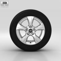 Hyundai i40 Wheel 16 inch 001 3D Model