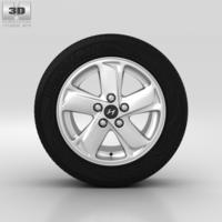 Hyundai ix35 Wheel 16 inch 001 3D Model
