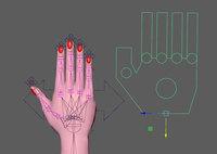 Hand Setup 1.0.0 for Maya (maya script)