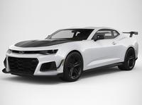 Chevrolet Camaro ZL1 1LE 2018 3D Model
