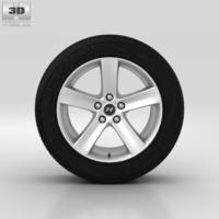 Hyundai ix55 Wheel 18 inch 001 3D Model