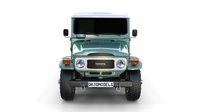 Toyota Land Cruiser FJ 40 Green 3D Model