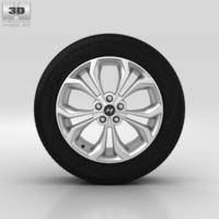 Hyundai Santa Fe Wheel 19 inch 001 3D Model