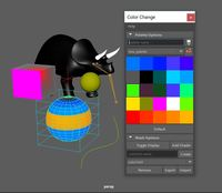 Color Change 1.0.0 for Maya (maya script)