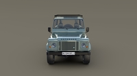 1985 Land Rover Defender 90 with interior ver 6 3D Model