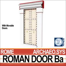 Roman Door Ba 3D Model
