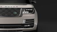 Range Rover SVAutobiography Limo L405 2019 3D Model