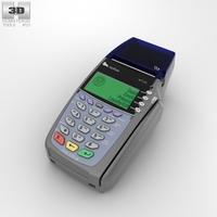 Credit Card Terminal 3D Model